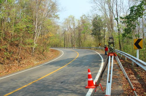 Surveying for Roadway Construction